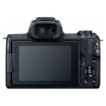 цифровой фотоаппарат Canon EOS M50 Kit (15-45 IS STM), черный