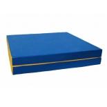мат гимнастический КМС № 10 (100 х 150 х 10), сине-жёлтый