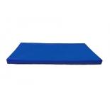 мат гимнастический КМС № 9 (100 х 150 х 10) сине-жёлтый
