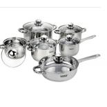 набор посуды для готовки Vitesse VS-9002 (из 12 пр.)