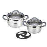 набор посуды для готовки Vitesse VS-2120 (из 5-ти пр.)