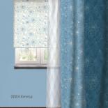 штора рулонная Волшебная Ночь 713795 (140x175), стиль Прованс, Emma, белая
