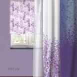 штора рулонная Волшебная Ночь 713811 (60x175), стиль Прованс, Lily, сиреневая