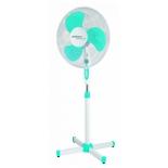 вентилятор бытовой Scarlett SC-SF111B12, белый/голубой