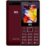 сотовый телефон BQ BQ-2412 Quattro, темно-красный