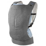 рюкзак-кенгуру Chicco Myamaki Complete Grey Stripes, переноска