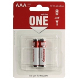 батарейка Smartbuy One ECO alkaline SOBA-3A02B-Eco (2x AAA/LR03, 1.5 В)