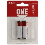 батарейка Smartbuy One ECO alkaline SOBA-2A02B-Eco (2x AA/LR6, 1.5 В)