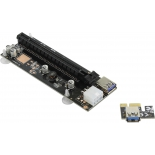 кабель (шнур) Raiser PCI-E x16 -> PCI-E 1x for GPU 250W+ TXB901-B
