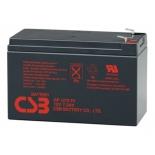 батарея аккумуляторная для ИБП CSB GP 1272 F2 (12В, 7.2Ач,)