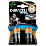 батарейка Duracell Turbo MAX LR03-4BL AAA (4шт. уп)