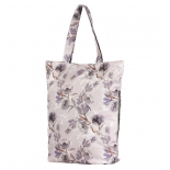 сумка женская Nosimoe 3152-2 тоут (цветы-серый-акварель)