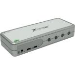 KVM-переключатель Multico EW-K2404DU (на 4 ПК)