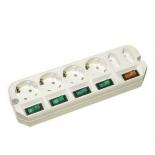 сетевой фильтр Удлинитель Most A16 3 м (6 розеток) белый