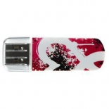 usb-флешка Verbatim 16Gb Mini Graffiti Edition 49414 красная