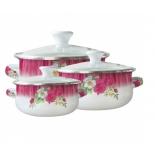 набор посуды для готовки Zeidan Z-80610-03 (из 6 пр.)