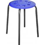 стул Ника ТП01 (d32см) синий