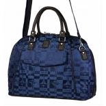 сумка дорожная Santa Fe E1838, синяя