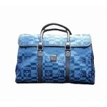 сумка дорожная Santa Fe E1841, синяя