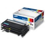 картридж для принтера Samsung CLT-P407C желтый/голубой/пурпурный/черный