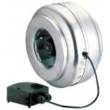 вентилятор бытовой Soler & Palau VENT-200L (канальный) серый
