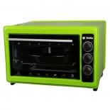 мини-печь, ростер Электрическая духовка DELTA D-023 зеленая (рестайлинг)