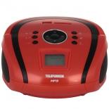 магнитола  Telefunken TF-SRP3449 (красный с черным)