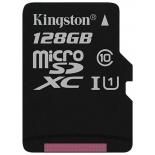 карта памяти Kingston SDCS 128GB черная