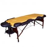 стол массажный DFC Nirvana, Relax,горчично-коричневый