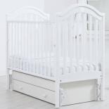 детская кроватка Гандылян Софи (универсальный маятник), белая
