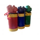 груша боксерская Набор боксерский КМС детский № 2 зелёно/жёлтый