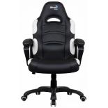 игровое компьютерное кресло Aerocool AC80C AIR-BW, черно-белое