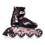 роликовые коньки Blackwheels Race (37) черно/розовые
