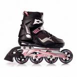 роликовые коньки Blackwheels Race (39) черно-розовые