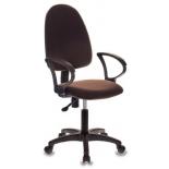 компьютерное кресло Бюрократ CH-1300/OR-16 Престиж+, коричневое