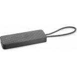 док-станция для ноутбука HP USB-C Mini Dock (1PM64AA) черная