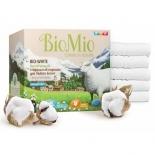 средство для стирки Стиральный порошок BioMio Bio-White для белого белья с экстрактом хлопка