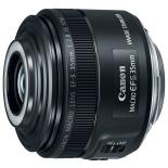 объектив для фото Canon EF-S 35mm f/2.8 IS STM macro с подсветкой
