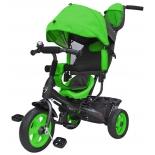 Трехколесный велосипед Galaxy Лучик Vivat, зеленый