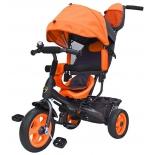Трехколесный велосипед Galaxy Лучик Vivat, оранжевый