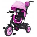 Трехколесный велосипед Galaxy Лучик Vivat, розовый