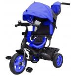 Трехколесный велосипед Galaxy Лучик Vivat, синий