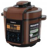 мультиварка Marta MT-4310, черная/медь