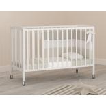 детская кроватка Angela Bella Бьянка белая