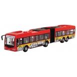 игрушка автобус Dickie, инерционный привод (3748001), красный