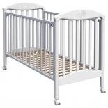 детская кроватка Fiorellino Pu 120-60 белая