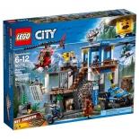 конструктор LEGO CITY  60174 Полицейский участок в горах (663 детали)