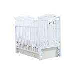 детская кроватка Гандылян Даниэль, универсальный маятник, белая