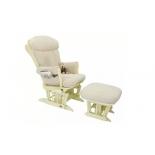 кресло для мамы Tutti Bambini Rose GC75, ваниль-крем