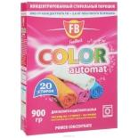 средство для стирки FeedBack Color Automat 900 г. (20 стирок, сильноконцентрированный для белого и цветного белья)